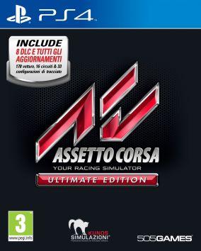 Copertina del gioco Assetto Corsa Ultimate Edition per Playstation 4