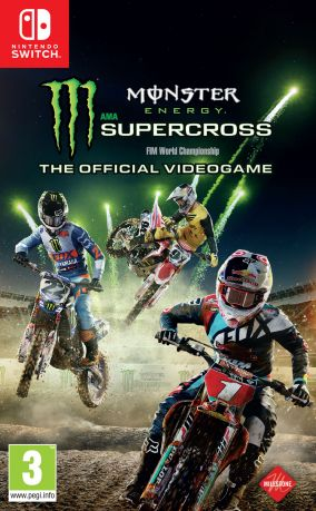 Copertina del gioco Monster Energy Supercross - The Official Videogame per Nintendo Switch