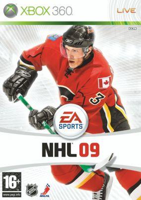Copertina del gioco NHL 09 per Xbox 360