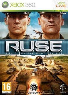 Immagine della copertina del gioco R.U.S.E. per Xbox 360