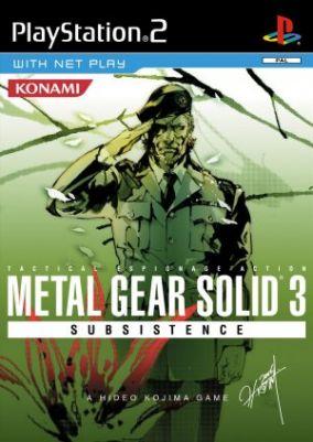 Immagine della copertina del gioco Metal Gear Solid 3: Subsistence per PlayStation 2