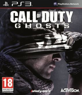 Copertina del gioco Call of Duty: Ghosts per PlayStation 3