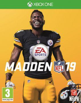 Copertina del gioco Madden NFL 19 per Xbox One