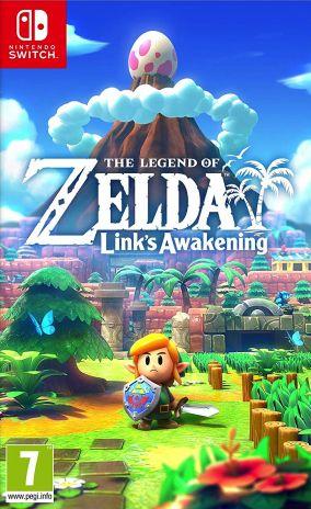 Copertina del gioco The Legend of Zelda: Link's Awakening per Nintendo Switch