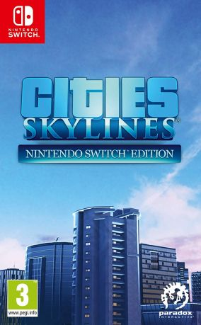 Copertina del gioco Cities: Skylines per Nintendo Switch