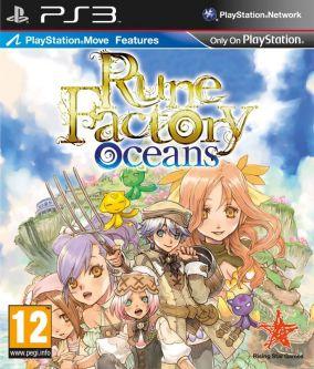 Copertina del gioco Rune Factory Oceans per PlayStation 3