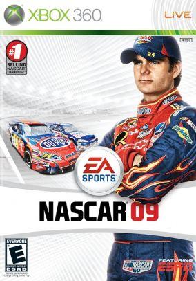 Copertina del gioco Nascar 09 per Xbox 360