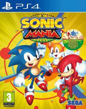 Immagine della copertina del gioco Sonic Mania Plus per PlayStation 4