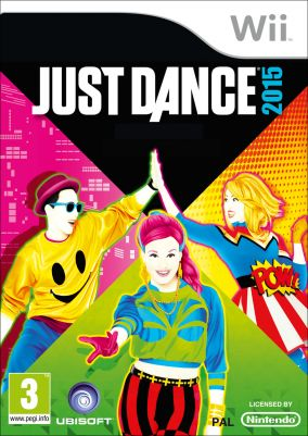 Copertina del gioco Just Dance 2015 per Nintendo Wii