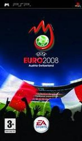Immagine della copertina del gioco UEFA Euro 2008 per PlayStation PSP