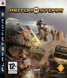 Copertina del gioco MotorStorm per PlayStation 3