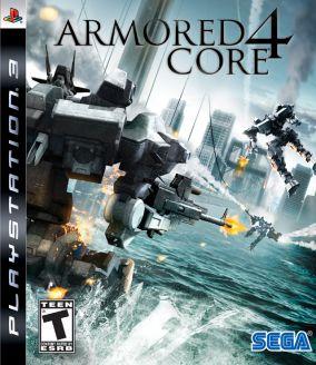 Copertina del gioco Armored Core 4 per PlayStation 3