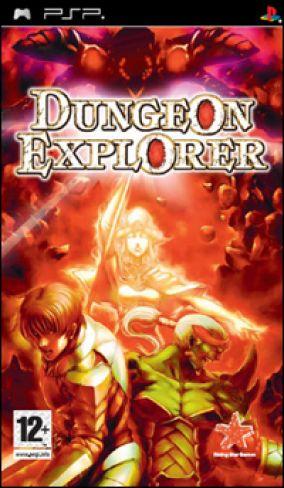 Immagine della copertina del gioco Dungeon Explorer: Warriors of Ancient Arts per PlayStation PSP