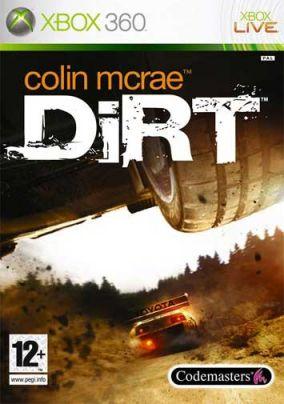 Copertina del gioco Colin McRae: DiRT per Xbox 360