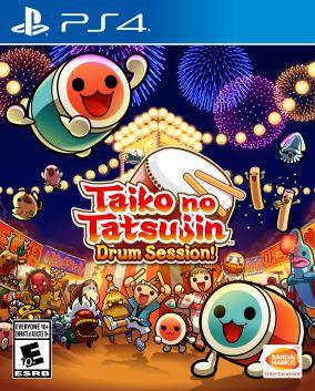 Immagine della copertina del gioco Taiko no Tatsujin: Drum Session! per PlayStation 4