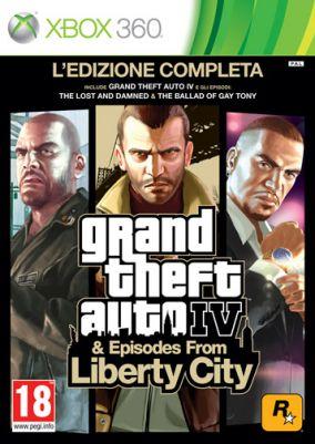 Copertina del gioco Grand Theft Auto IV: Edizione Completa per Xbox 360