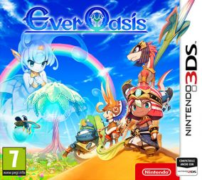 Copertina del gioco Ever Oasis per Nintendo 3DS