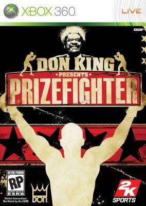 Immagine della copertina del gioco Don King Presents: Prizefighter per Xbox 360