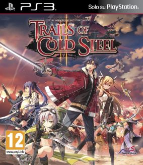 Copertina del gioco The Legend of Heroes: Trails of Cold Steel II per PlayStation 3