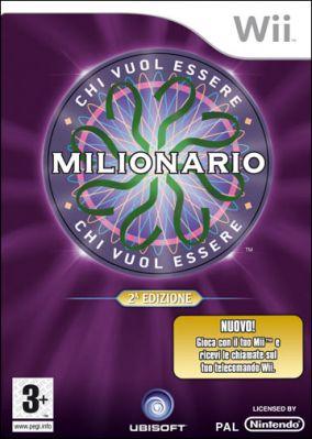 Immagine della copertina del gioco Chi vuol essere Milionario? 2 per Nintendo Wii