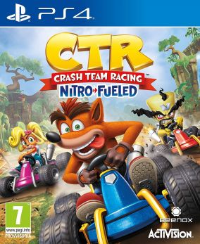 Copertina del gioco Crash Team Racing Nitro Fueled per PlayStation 4