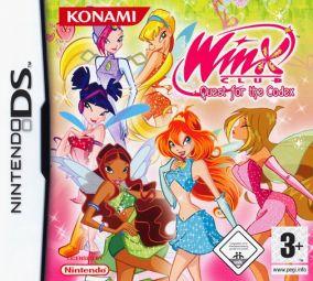 Immagine della copertina del gioco Winx Club: The Quest for the Codex per Nintendo DS