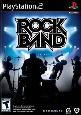 Copertina del gioco Rock Band per PlayStation 2