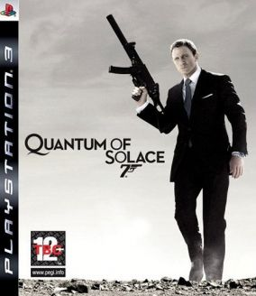 Copertina del gioco James Bond: Quantum of Solace per PlayStation 3