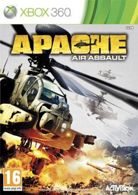 Copertina del gioco Apache: Air Assault per Xbox 360