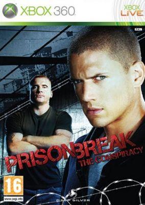 Copertina del gioco Prison Break : The Conspiracy per Xbox 360
