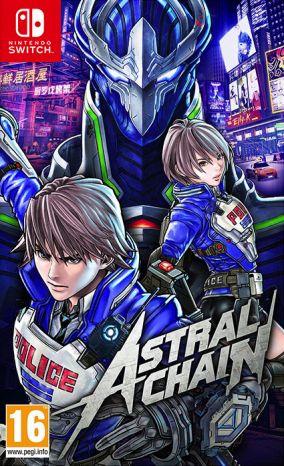 Copertina del gioco Astral Chain per Nintendo Switch