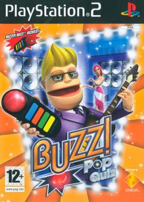 Copertina del gioco Buzz! The Pop Quiz per PlayStation 2