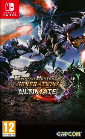 Immagine della copertina del gioco Monster Hunter Generations Ultimate per Nintendo Switch