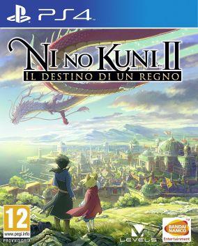 Immagine della copertina del gioco Ni No Kuni II: Il Destino di un Regno per PlayStation 4