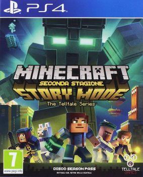 Copertina del gioco Minecraft: Story Mode - Season 2 per Playstation 4