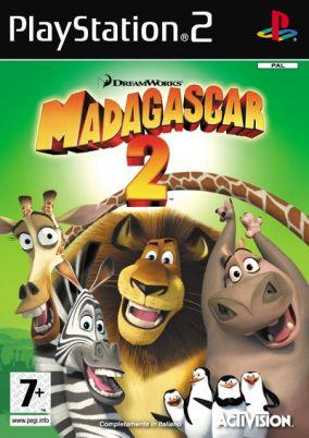 Copertina del gioco Madagascar: Escape 2 Africa per PlayStation 2