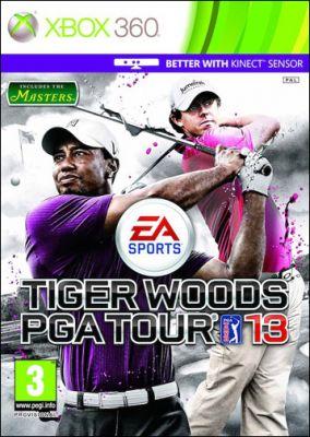Copertina del gioco Tiger Woods PGA Tour 13: The Masters per Xbox 360