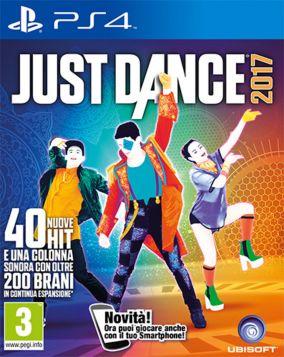Immagine della copertina del gioco Just Dance 2017 per PlayStation 4