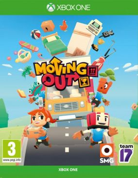 Copertina del gioco Moving Out per Xbox One