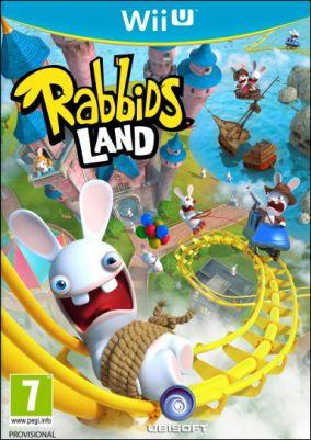 Immagine della copertina del gioco Rabbids Land per Nintendo Wii U