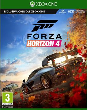 Immagine della copertina del gioco Forza Horizon 4 per Xbox One