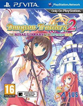 Immagine della copertina del gioco Dungeon Travelers 2: The Royal Library & the Monster Seal per PSVITA