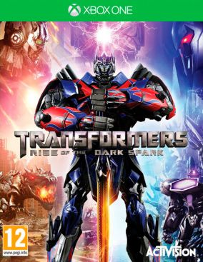 Copertina del gioco Transformers: Rise of the Dark Spark per Xbox One