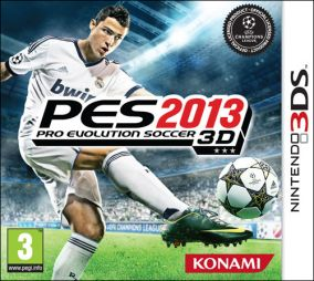 Immagine della copertina del gioco Pro Evolution Soccer 2013 per Nintendo 3DS