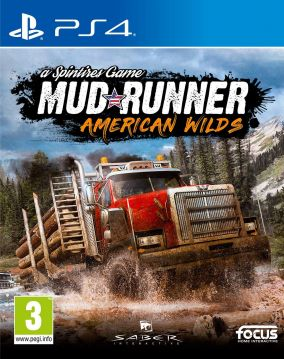 Copertina del gioco Spintires: MudRunner - American Wilds Edition per PlayStation 4