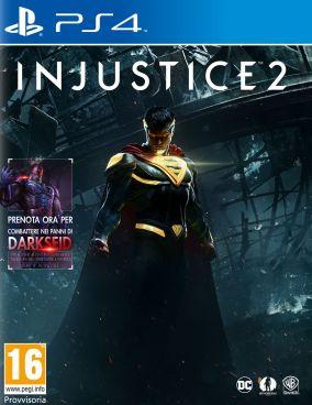 Immagine della copertina del gioco Injustice 2 per PlayStation 4
