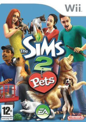 Immagine della copertina del gioco The Sims 2 Pets per Nintendo Wii