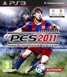 Immagine della copertina del gioco Pro Evolution Soccer 2011 per PlayStation 3