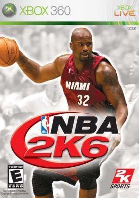 Copertina del gioco NBA 2K6 per Xbox 360