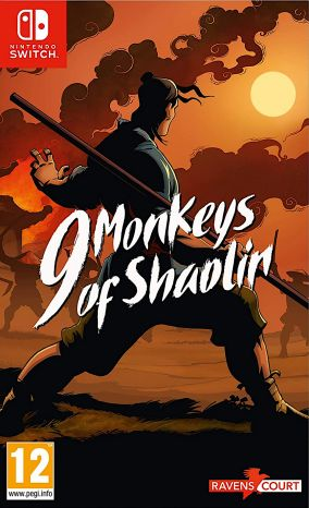 Copertina del gioco 9 Monkeys of Shaolin per Nintendo Switch
